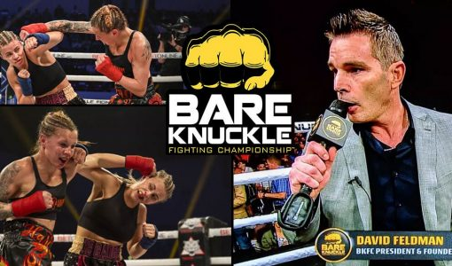 BKFC With Paige VanZant Vs Britan Hart And David Feldman