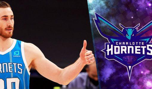 Gordon Hayward Thumbs Up Hornets Backdrop