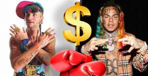 Riff Raff And Tekashi 6ix 9ine Boxing Challenge