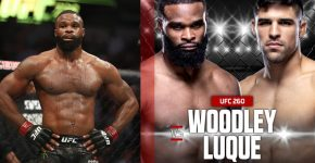 Tyron Woodley Underdog Vs Vincent Luque UFC 260