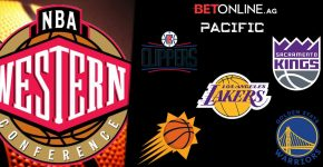 Betonline And Western Conference Pacific Division Teams