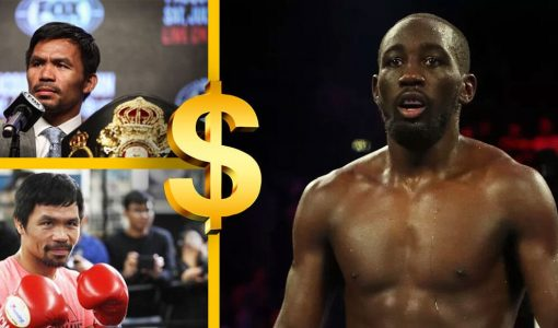 Manny Pacquiao And Terence Crawford With Money Sign