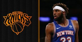 Mitchell Robinson Knicks Background