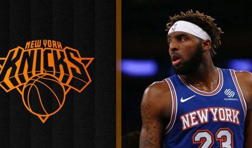 Mitchell Robinson Knicks Background