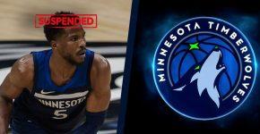 Malik Beasley Timberwolves Suspended