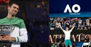 Novak AO Grand Slam Champion