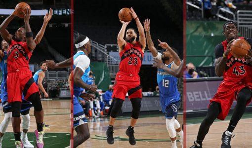 Raptors With Ball Vs Bucks