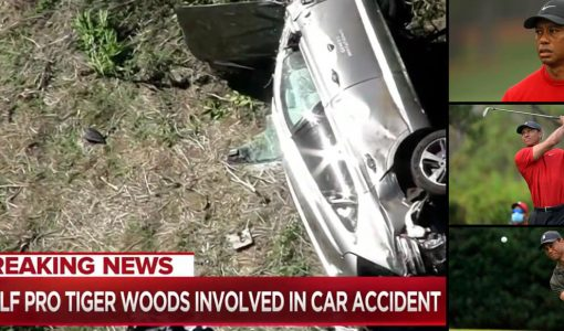 Tiger Woods Car Accident