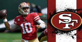 Jimmy Garoppolo With 49ers Background
