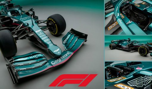 New Aston Martin Formula 1 Car