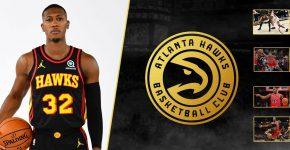 Kris Dunn With Atlanta Hawks Background