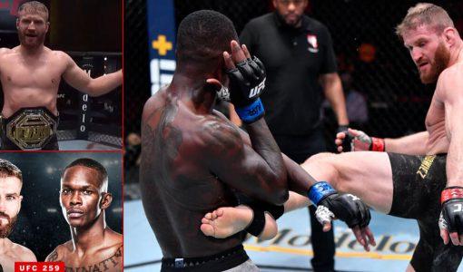 UFC 259 Blachowicz Adesanya