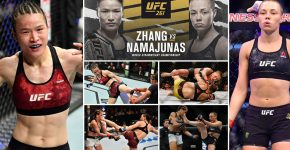 Zhang Vs Namajunas UFC 261