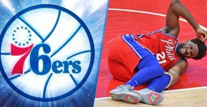 Joel Embiid Knee Injury 76ers Background