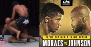 Moraes Vs Johnson One Championship