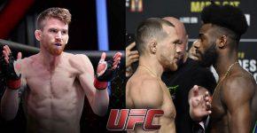 Cory Sandhagen With Petr Yan and Aljimain Sterling UFC