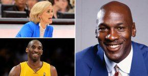 Michael Jordan With Kim Mulkey And Kobe Bryant