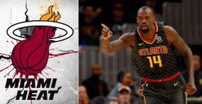 Dewayne Dedmon With Miami Heat Background
