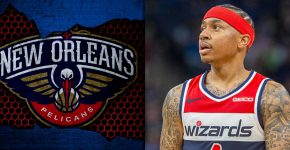 Isaiah Thomas With Pelicans Background