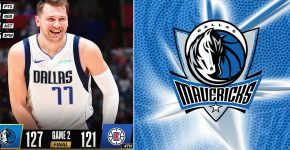 Luka Doncic Mavericks Clippers Background