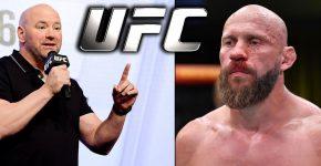 Dana White And Donald Cerrone UFC