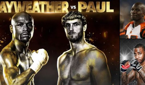 Mayweather Vs Paul With Chad Johnson Vs Brian Maxwell