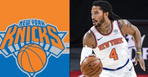 Derrick Rose New York Knicks Background