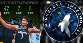 Anthony Edwards Timberwolves Background