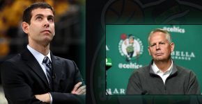 Celtics Brad Stevens And Danny Ainge