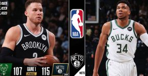 Brooklyn Nets Vs Bucks Background