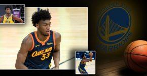 James Wiseman Golden State Warriors Background