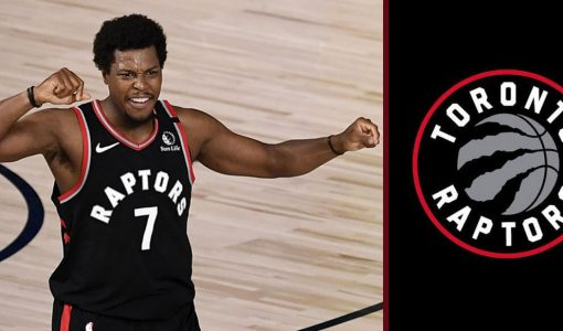 Kyle Lowry With Raptors Background