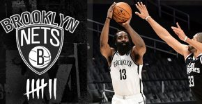 Brooklyn Nets James Harden With 7 Tally
