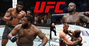 Curtis Blaydes Wrestling Derrick Lewis UFC