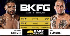 BKFC Leonard Garcia Vs Joe Elmore