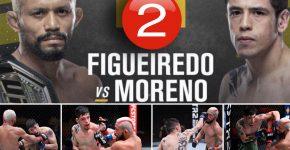Figueiredo Vs Moreno Rematch