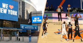 Madison Square Garden To Allow Fans For Knicks Game