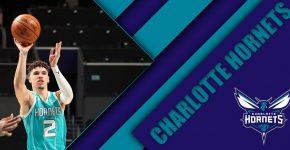 Lamelo Ball Charlotte Hornets Background