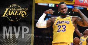 Lebron James Lakers MVP