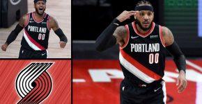Trail Blazers Carmelo Anthony