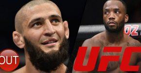 Khamzat Chimae Out Leon Edwards UFC