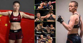 Weili Zhang Vs Rose Namajunas UFC