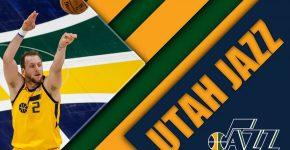 Joe Ingles With Utah Jazz Background
