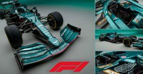 New Aston Martin Formula 1 Car