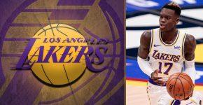 Dennis Schroder Lakers Background