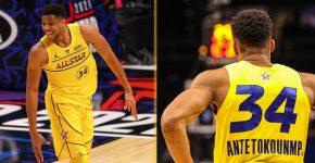 Giannis Antetokounmpo MVP All Star
