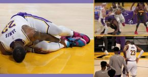 Lebron James Right Ankle Injury