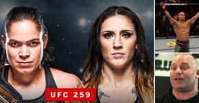 Matt Serra Megan Anderson And Amanda Nunes UFC 259