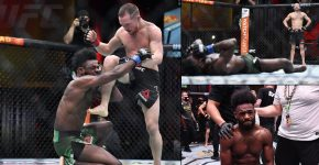 Petr Yan Illegal Knee Aljamain Sterling UFC