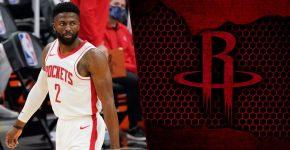 David Nwaba With Houston Rockets Background